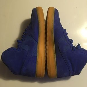 Nike Men Blue Air Force One's Size 15